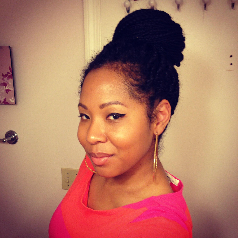 Block braids. BlacKoreanPea   Natural Hair   Pinterest