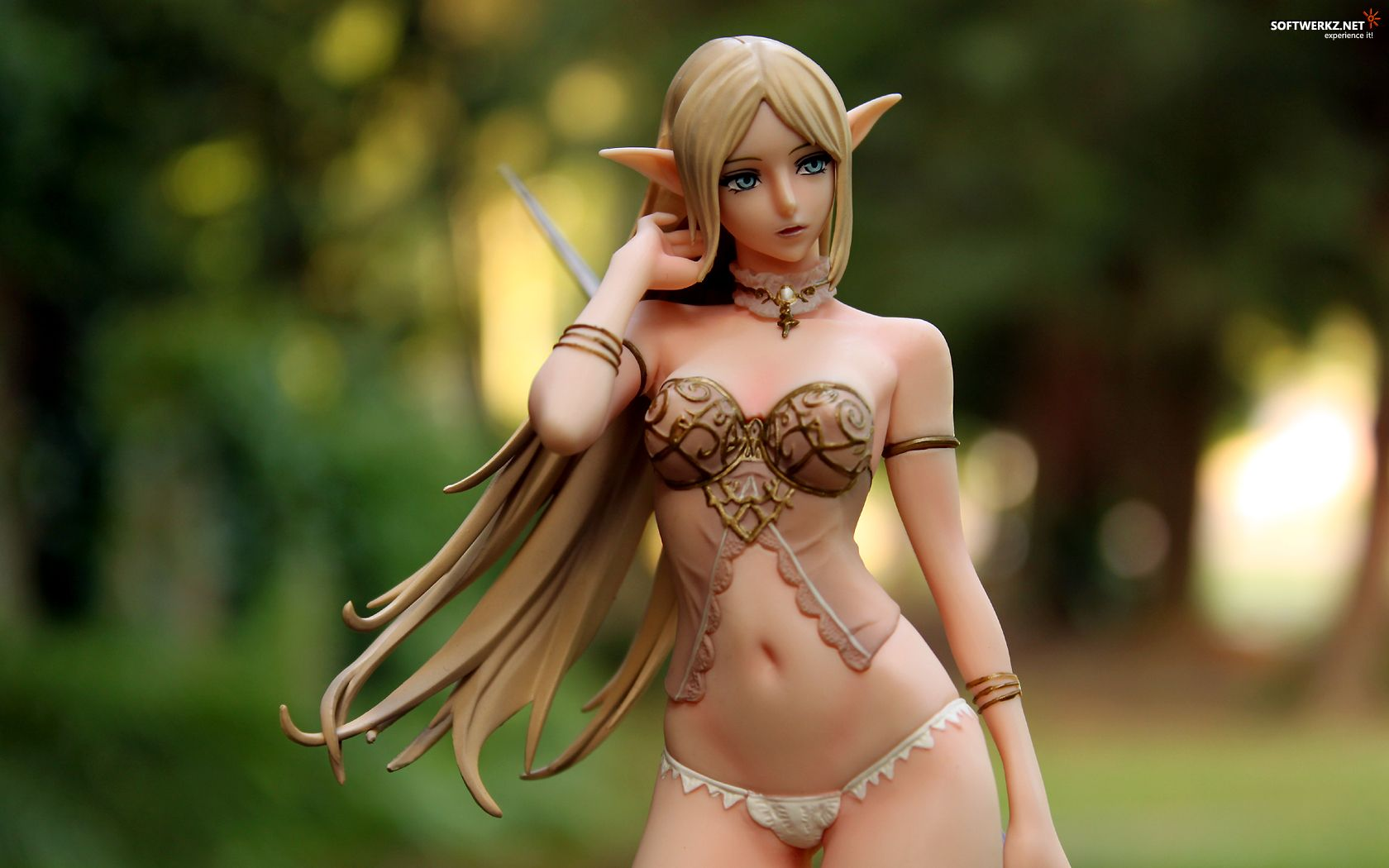 Sexy nude female elf adult picture