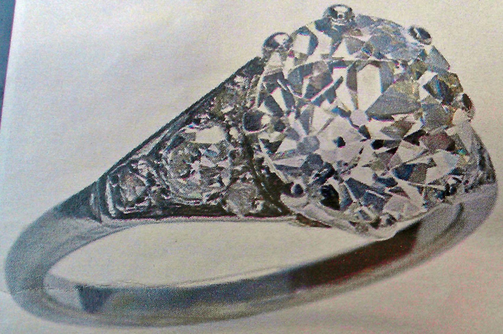 Queen Elizabeth Diamond Engagement Ring
