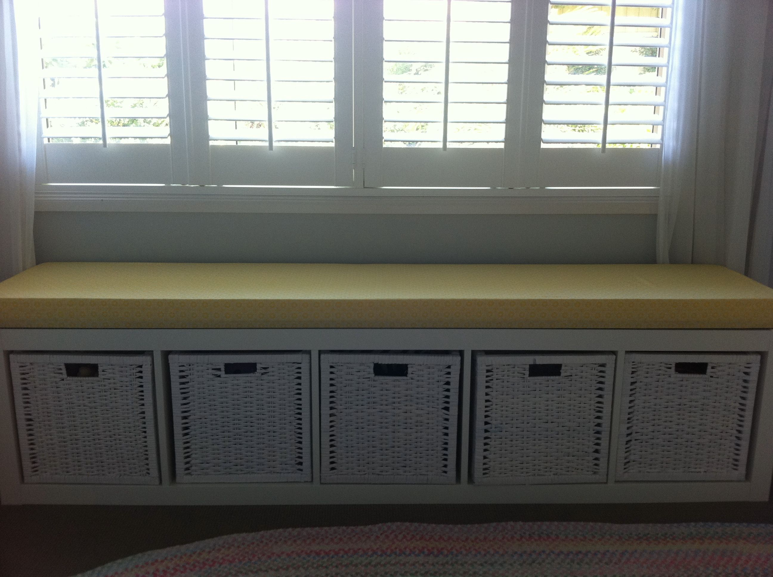 Ikea Storage Window Seat For The Home Pinterest