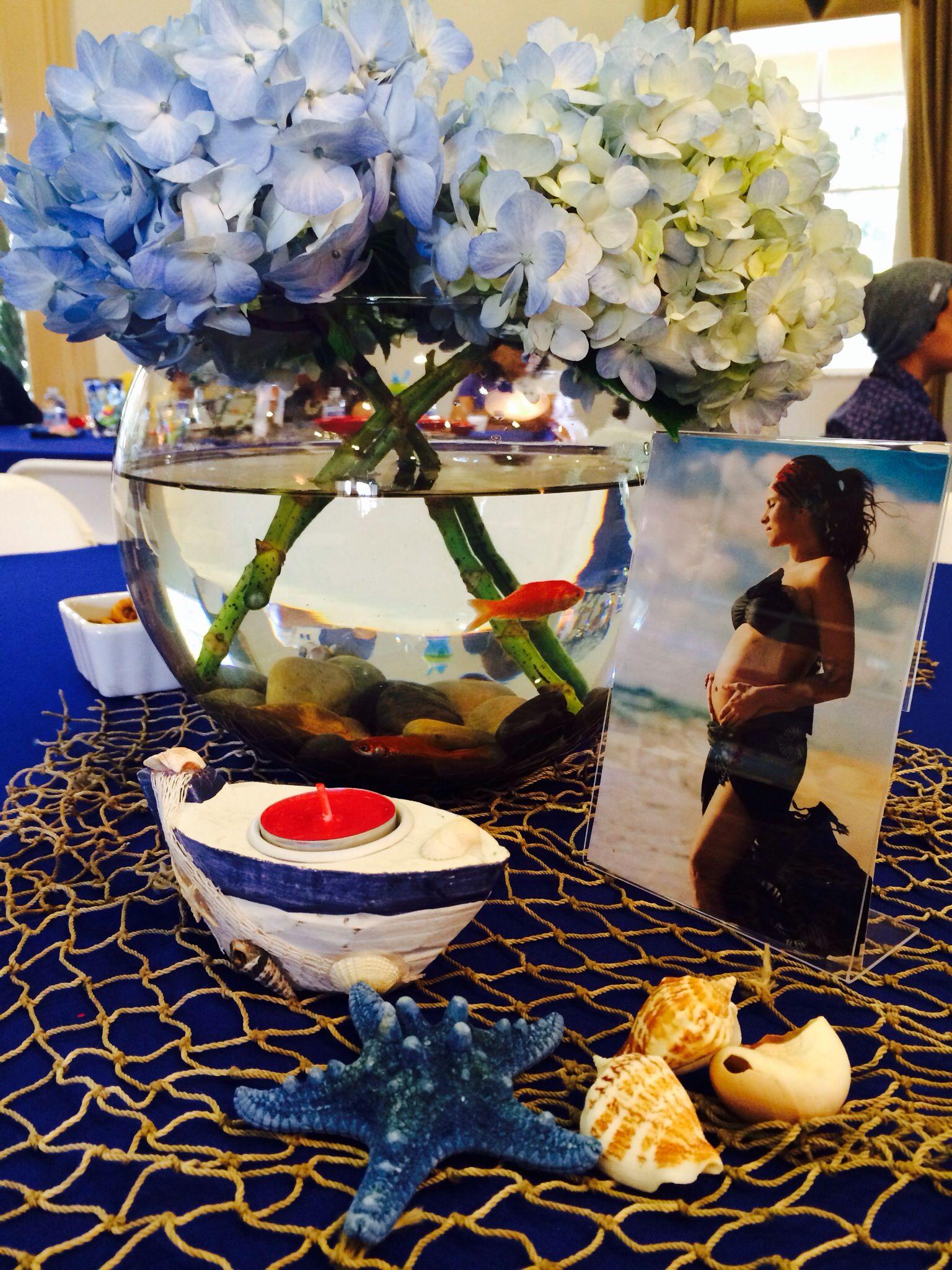 nautical baby shower centerpiece baby shower pinterest