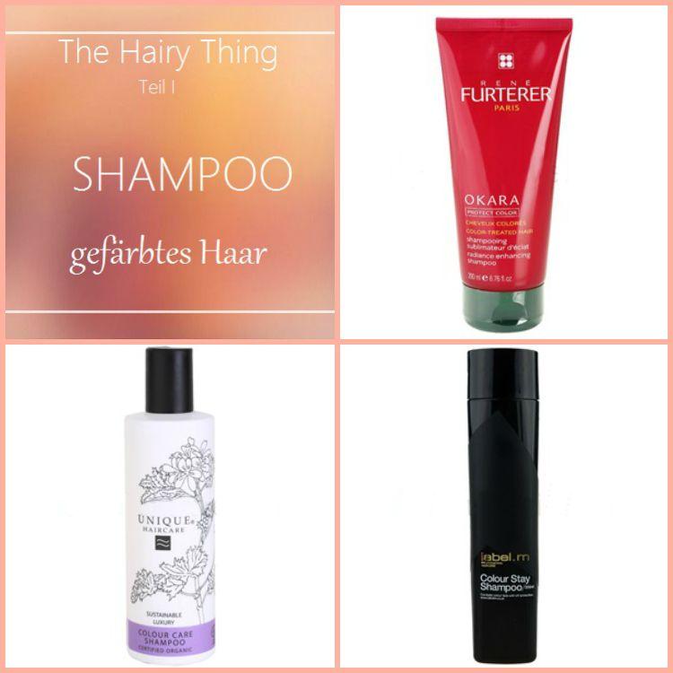 Shampoos für gefärbtes Haar