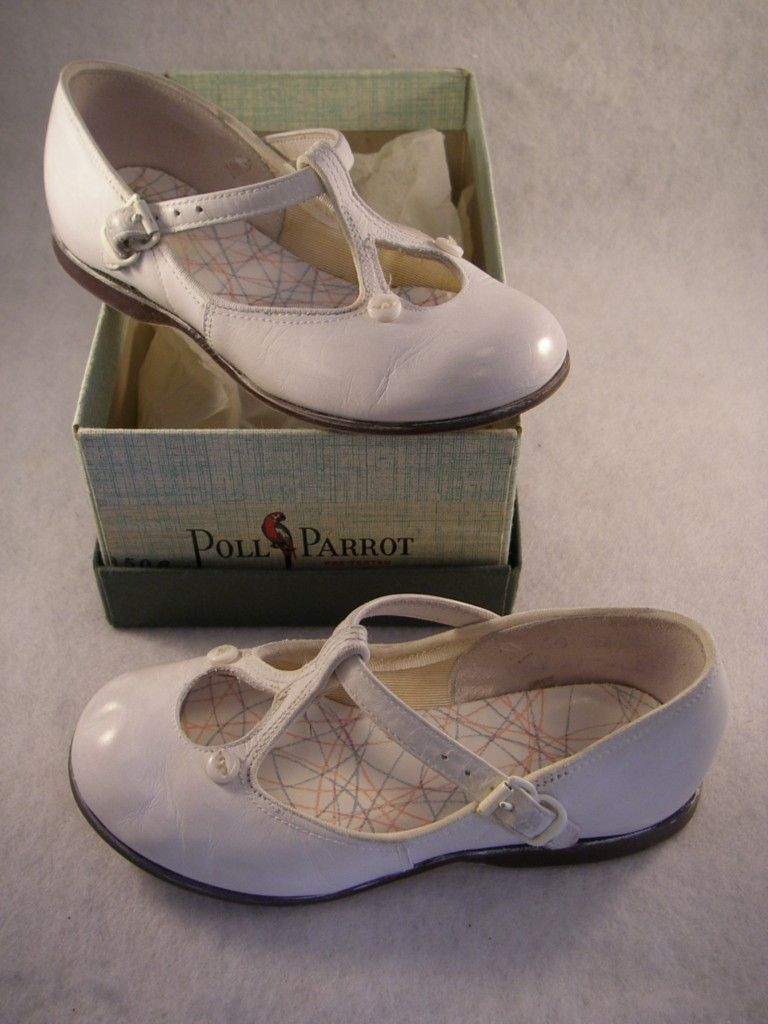 vtg white mary jane shoes.   Baby/Children's Clothes-Vintage   Pinter