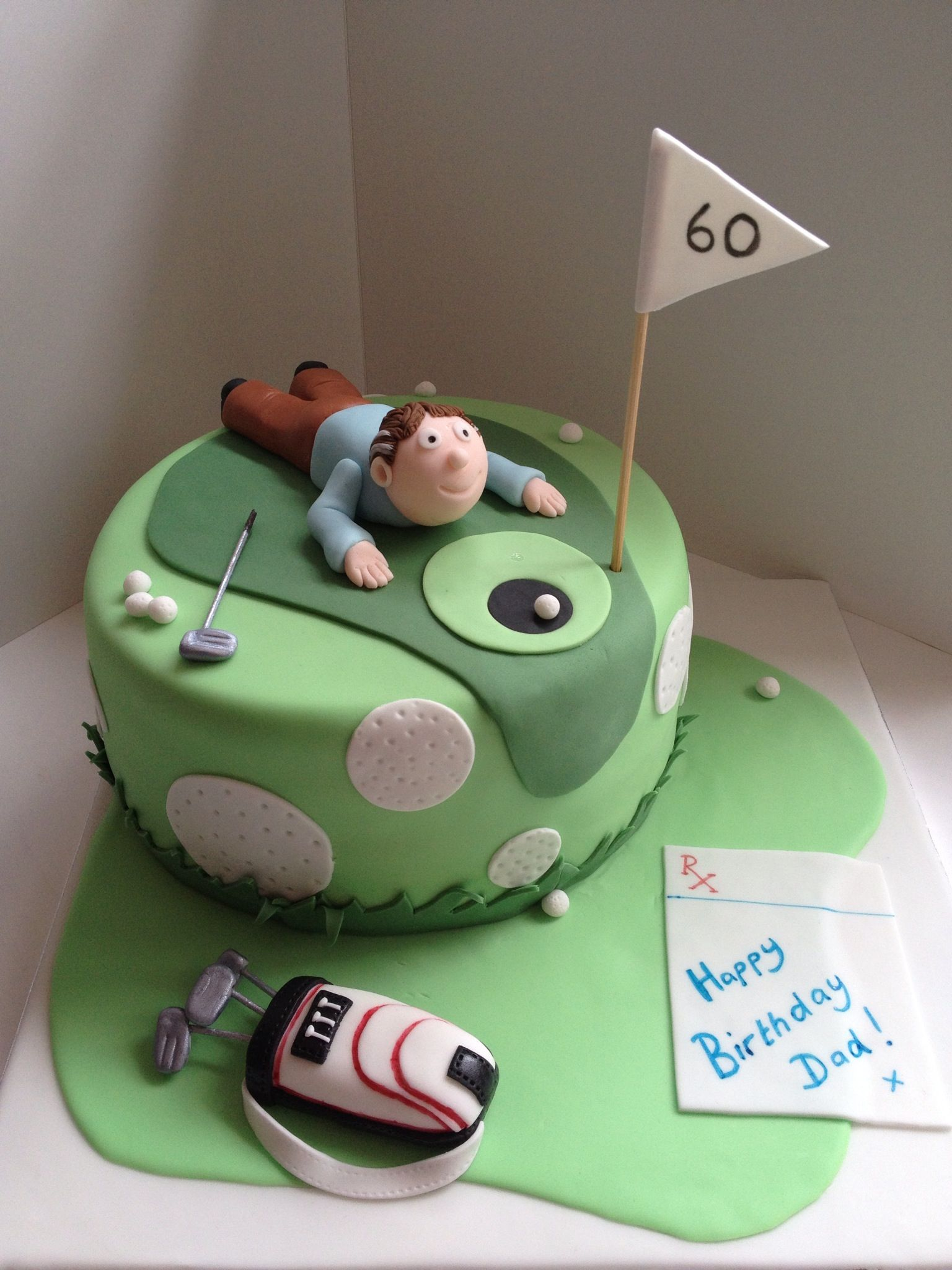 Cake Decorating Ideas Golf Theme : Golf Birthday Cake Cake Ideas and Designs