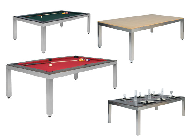 Pool table dining room table dream house pinterest for Pool table dining room table