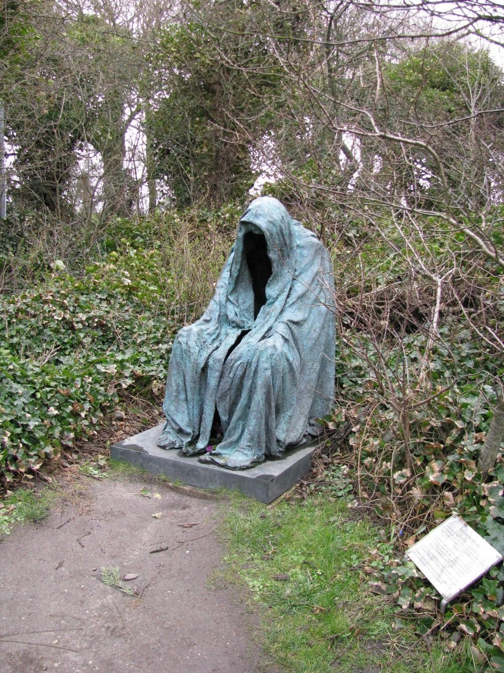 grim reaper cemetery sculpture | Cemetery Photos | Pinterest