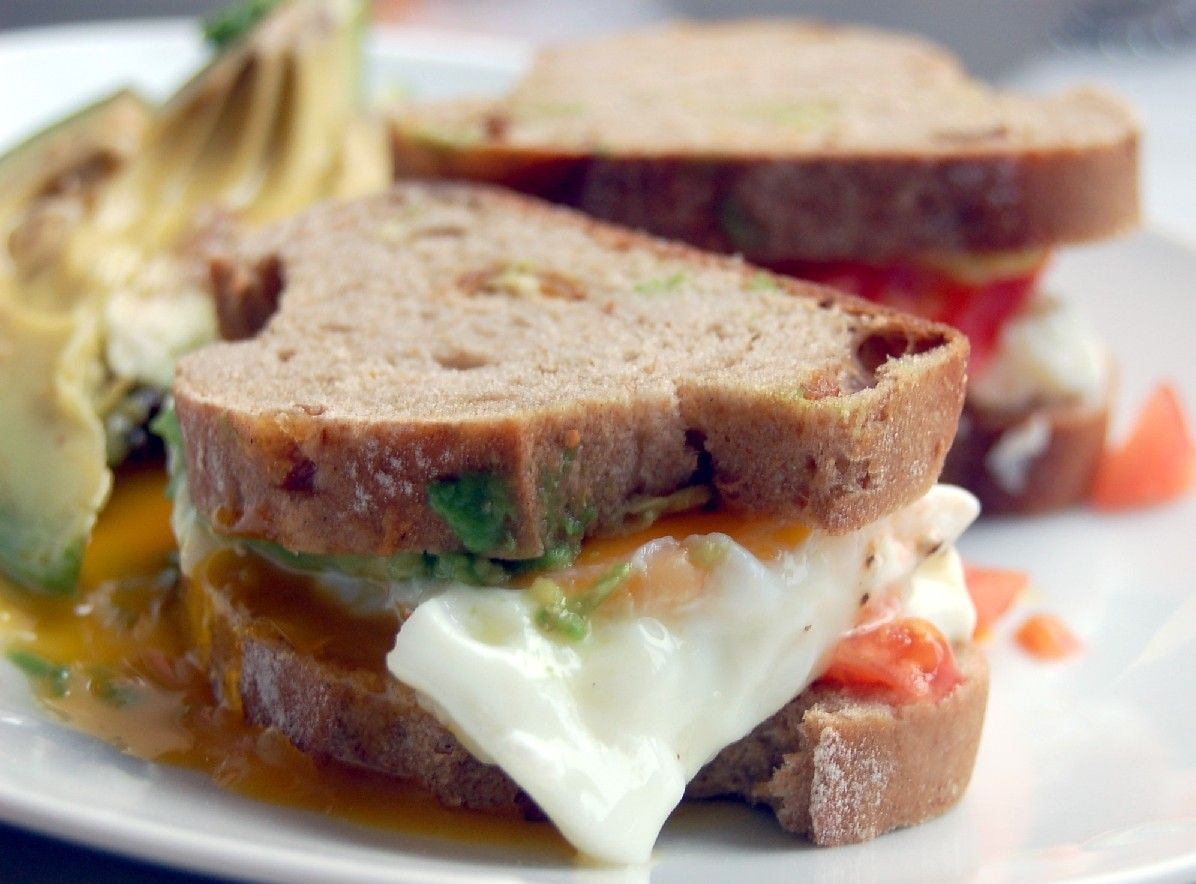 bacon egg and avocado sandwich laura s little house tips egg avocado ...