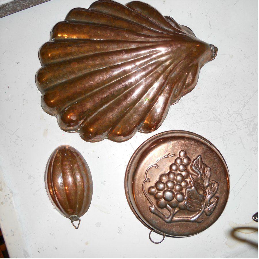 copper jello mold