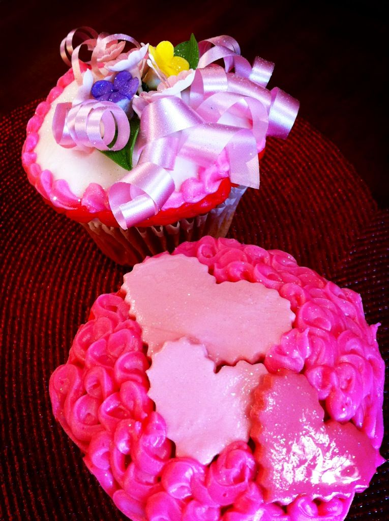 Sweetheart Cupcakes | Cakes and pies meant to be mastered | Pinterest