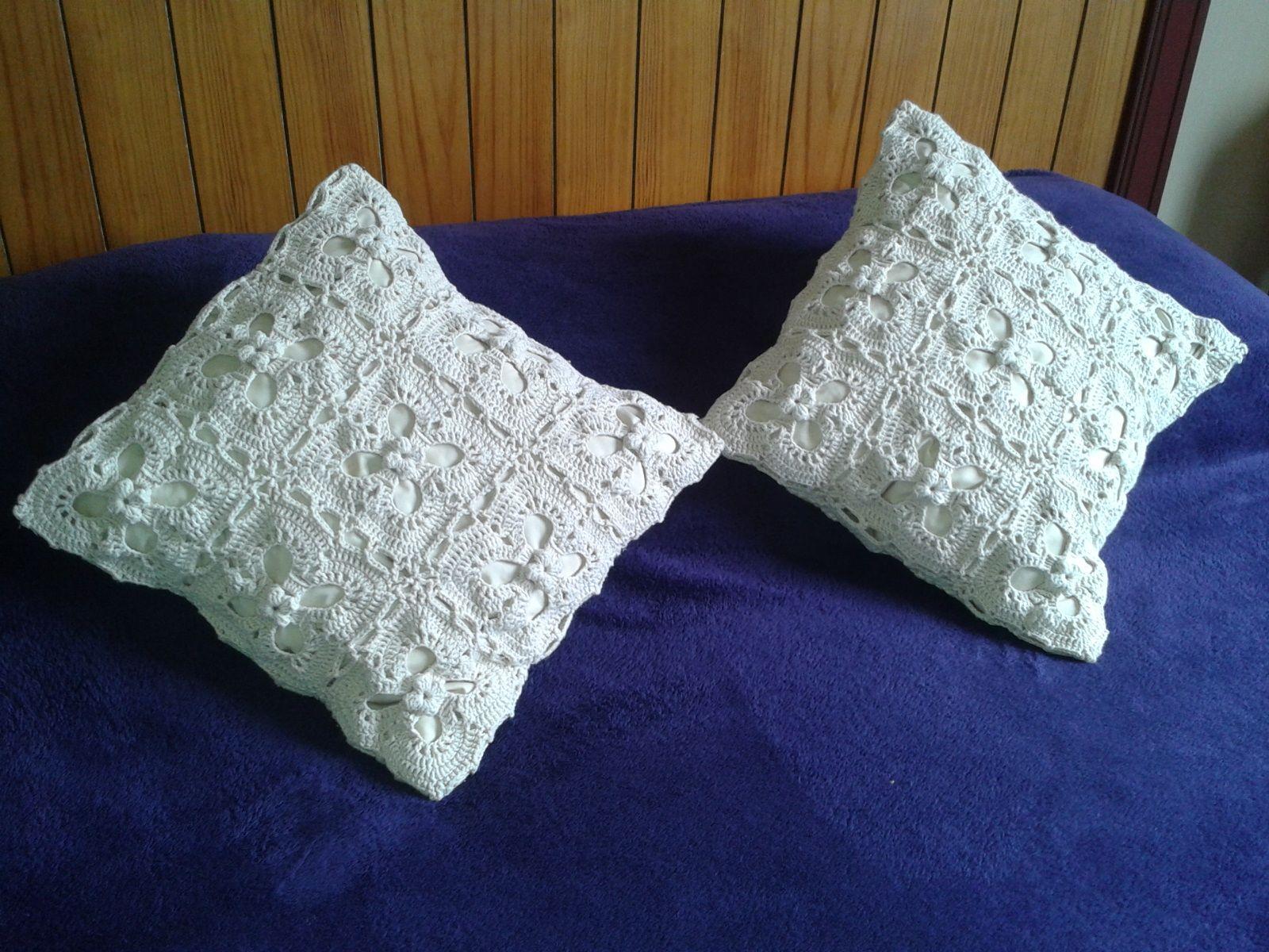 Cojines a crochet   tejidos   Pinterest