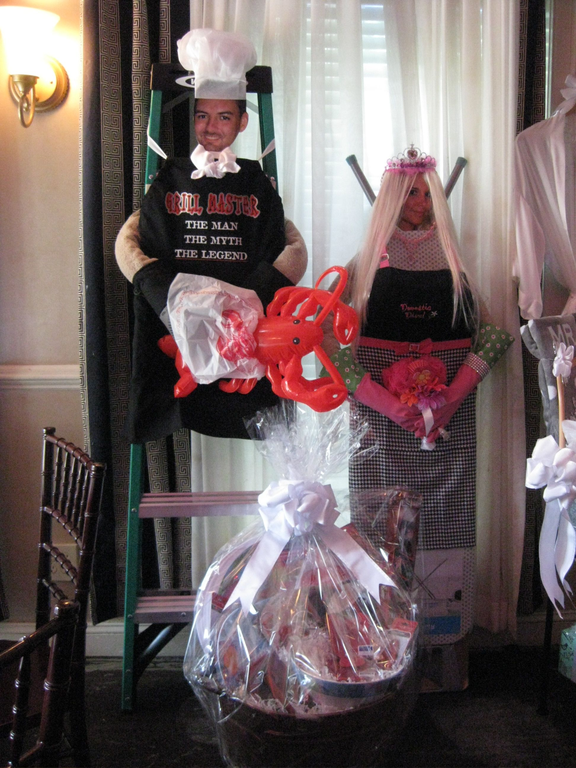 Fun Groom ladder & bride ironing board! | Bridal Shower ...