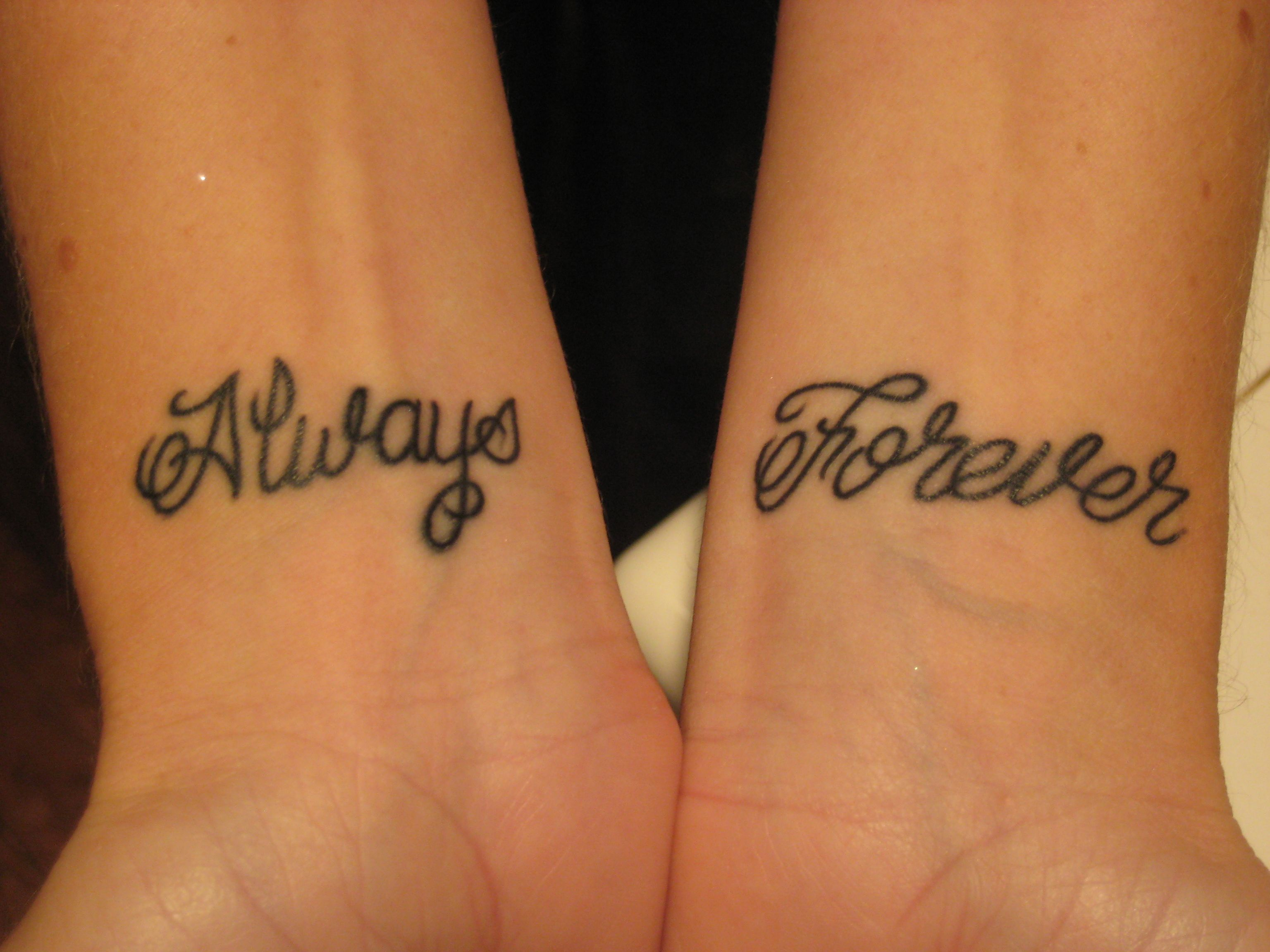 Forever And Always Tattoos Always and Forever | t...