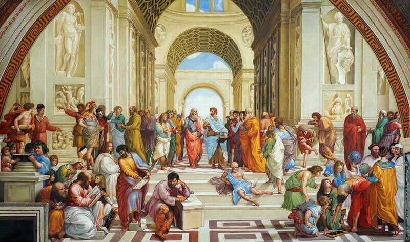 Raphael - The School of Athens. | Art | Pinterest