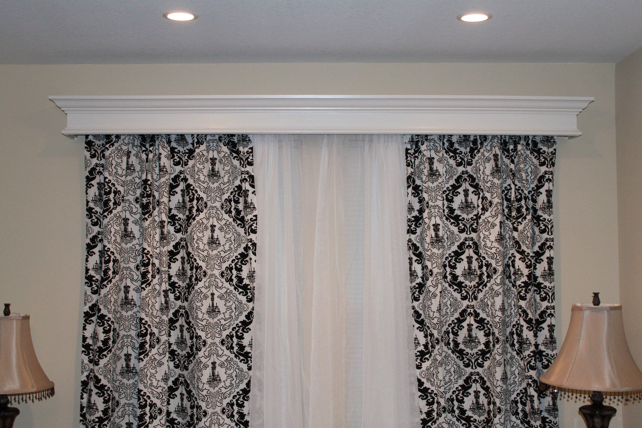 window cornice for the home pinterest