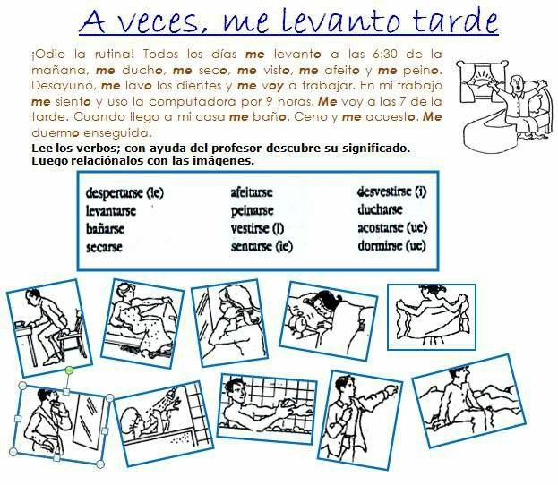 what are verbos reflexivos. Black Bedroom Furniture Sets. Home Design Ideas