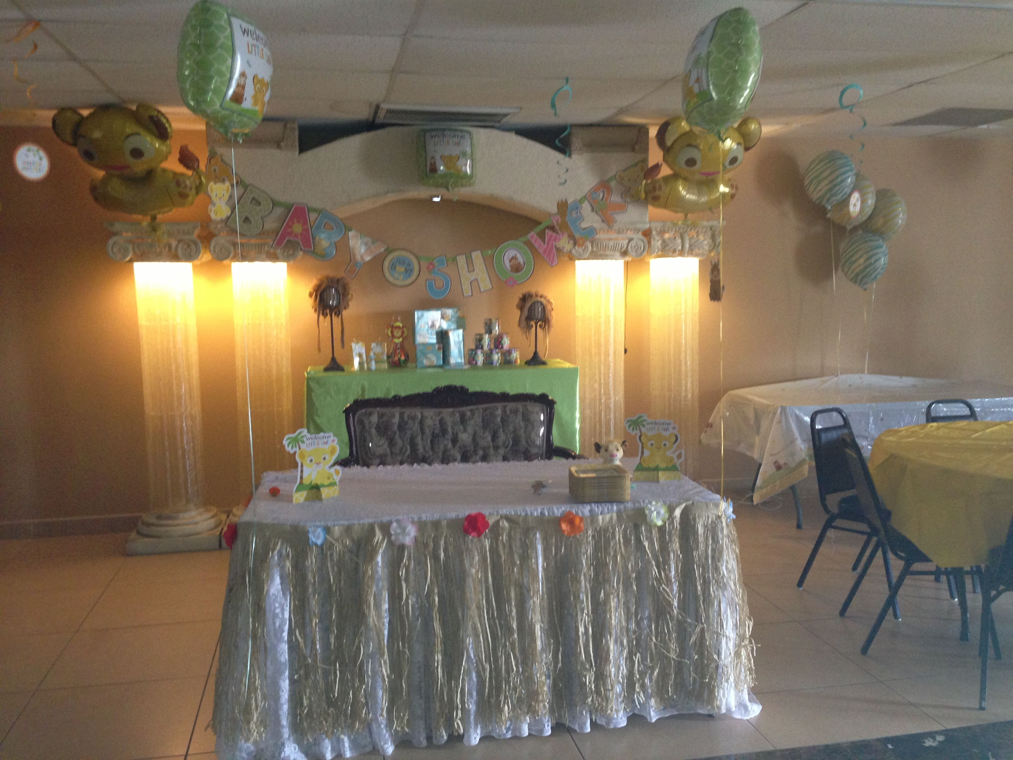 lion king baby shower party planning pinterest
