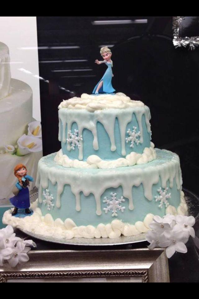 Frozen Cake Design Pinterest : Frozen Birthday Cake Party ideas Pinterest