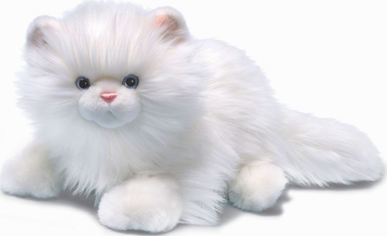 Furry white cat puppet automobiles pinterest