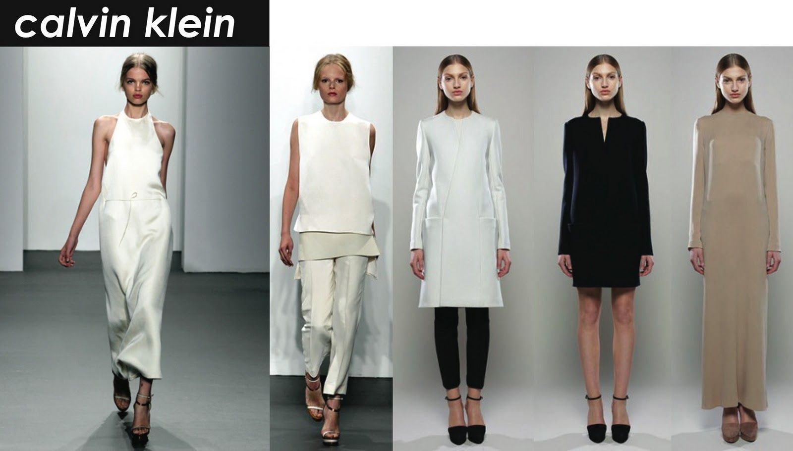 Calvin Klein Minimalist Look Fashion Inspiration Pinterest