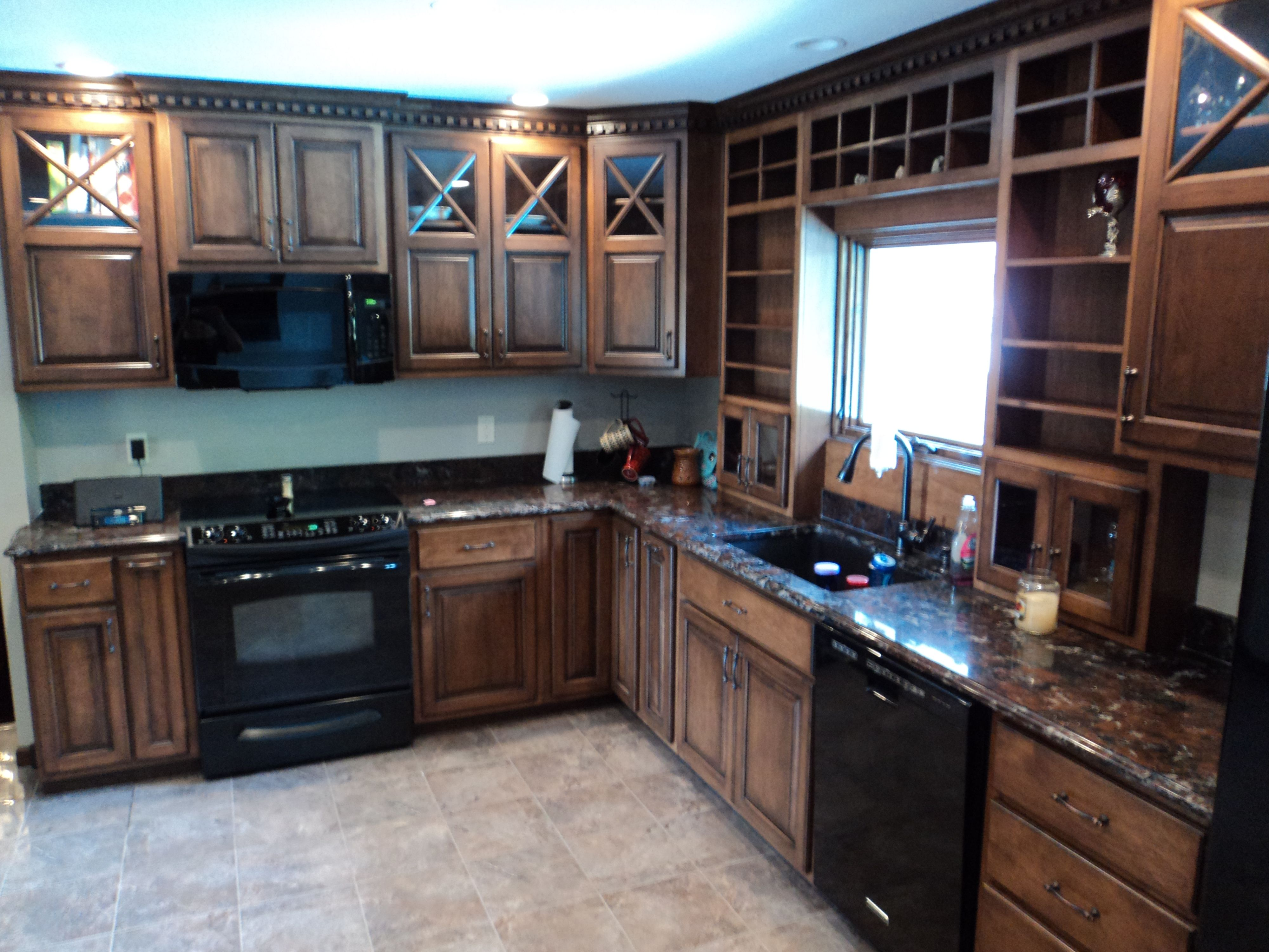 Complete kitchen remodel after kitchen cabinets for Complete kitchen cupboards