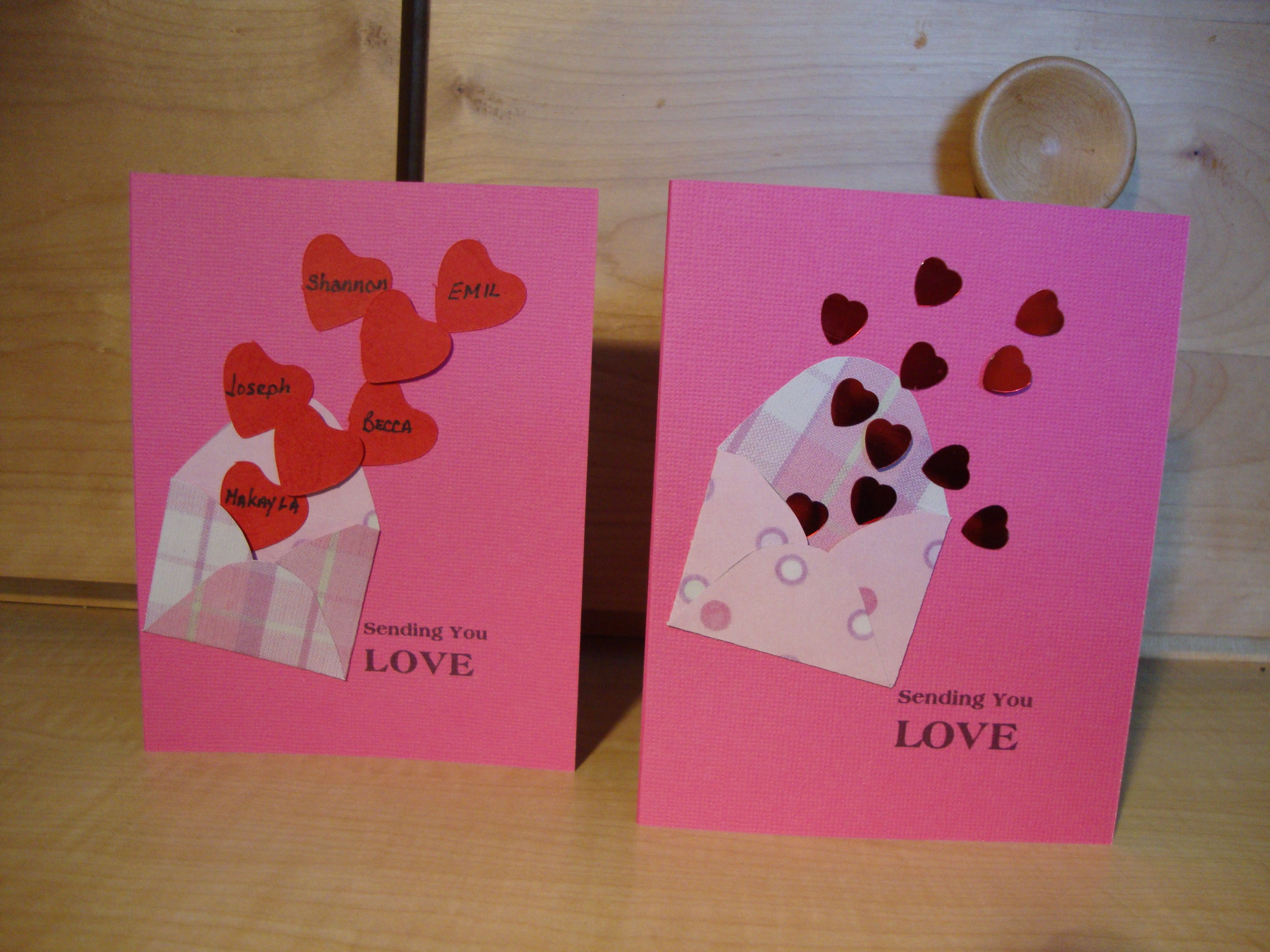 valentines cards what to write