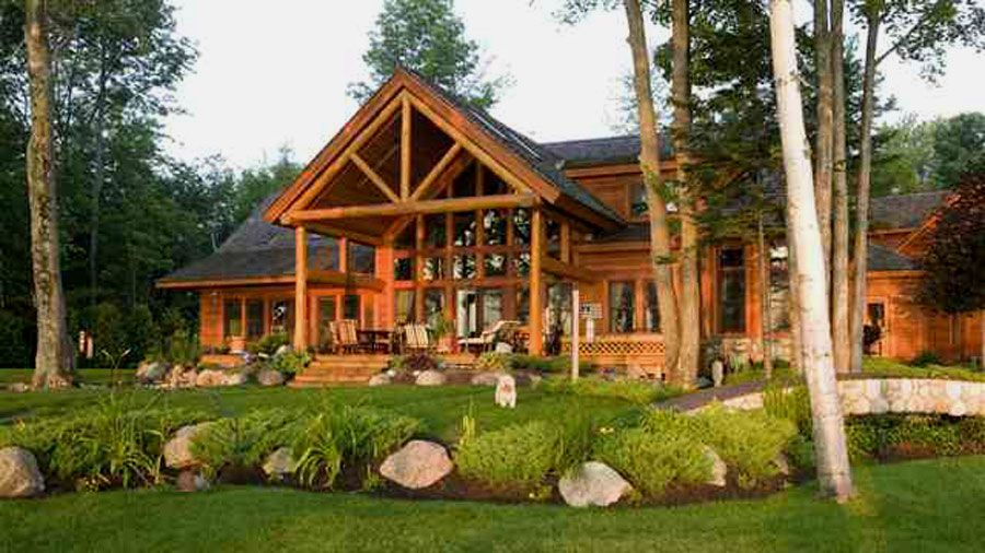 Log Cabin Dream Home Is Where You Make It Pinterest