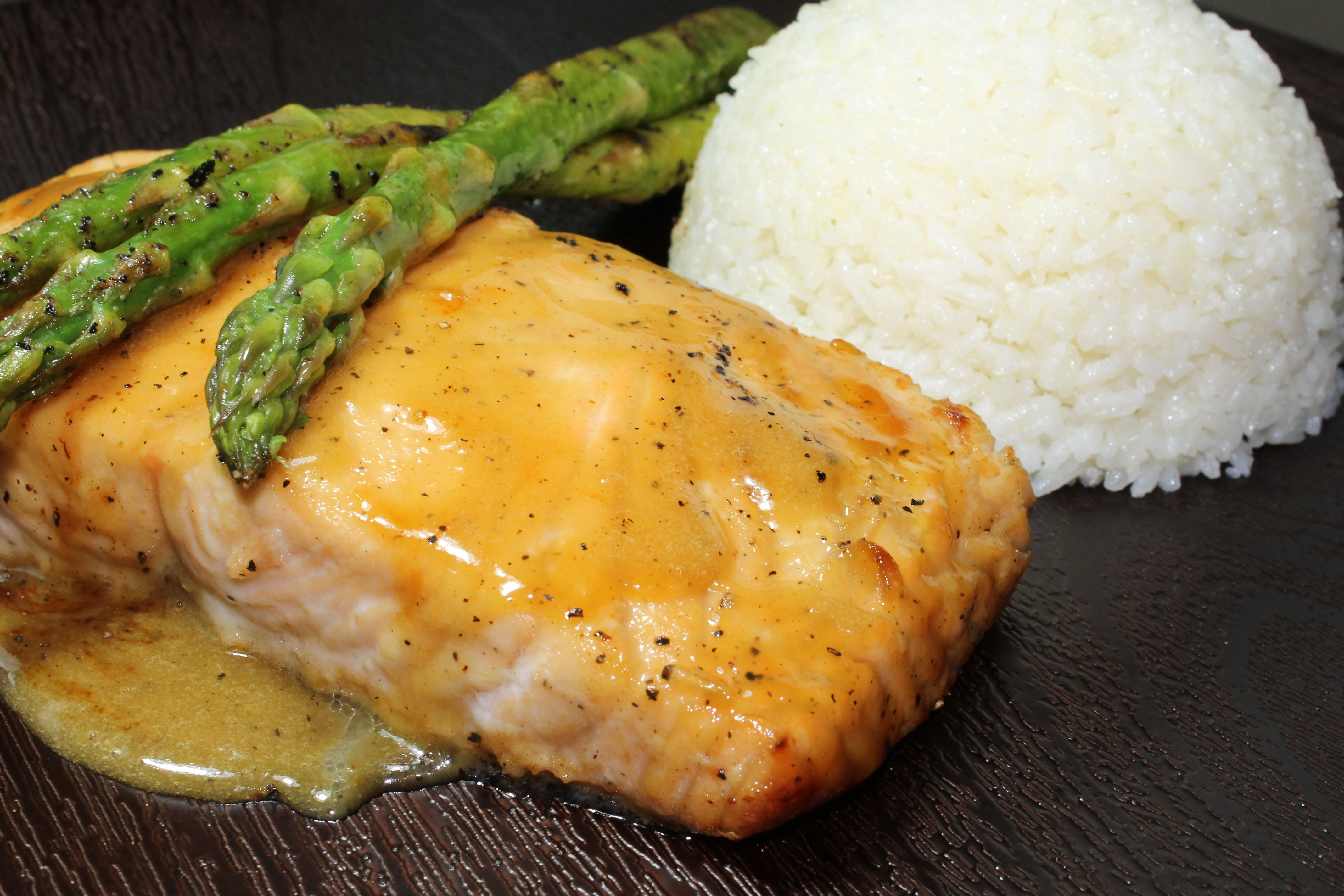dijon mustard sage glaze grilled salmon with miso glaze salmon with ...