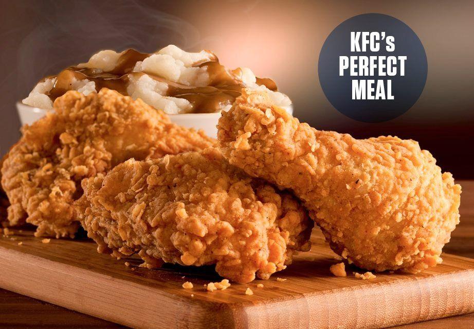 KFC's Extra Crispy & Mashed potatoes | 饗 Food | Pinterest