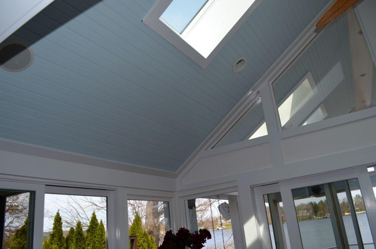 Vaulted Ceiling Fan Skylight