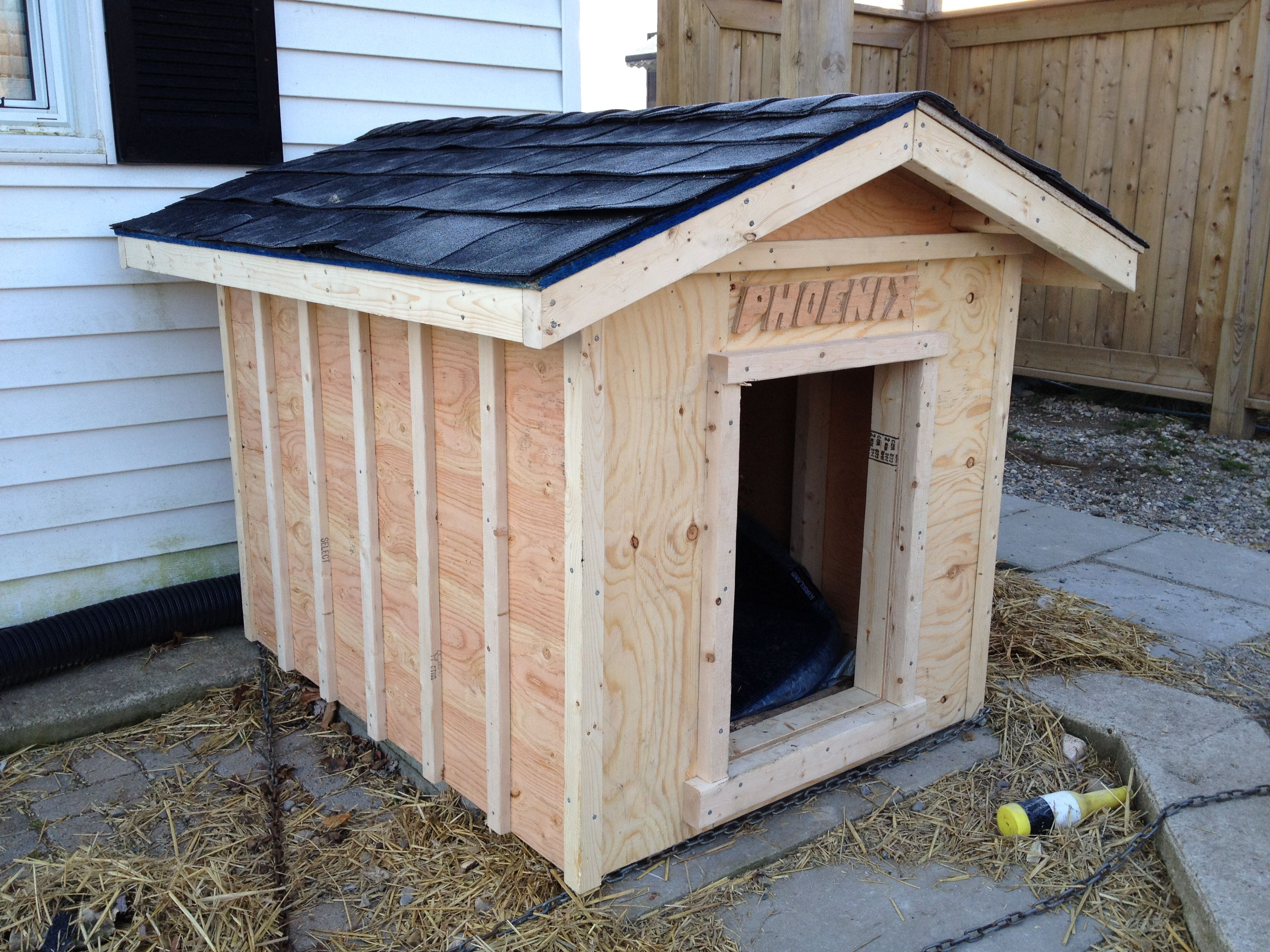 Custom Built Dog House Perfect Getaway Pinterest