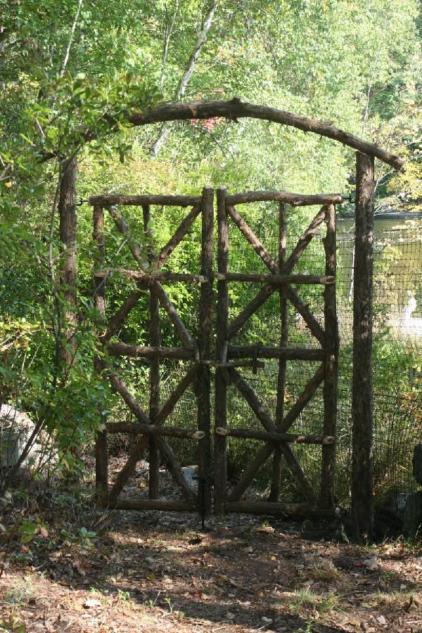 Rustic gate rusticmount 39 nmagic design pinterest for Rustic garden gate designs