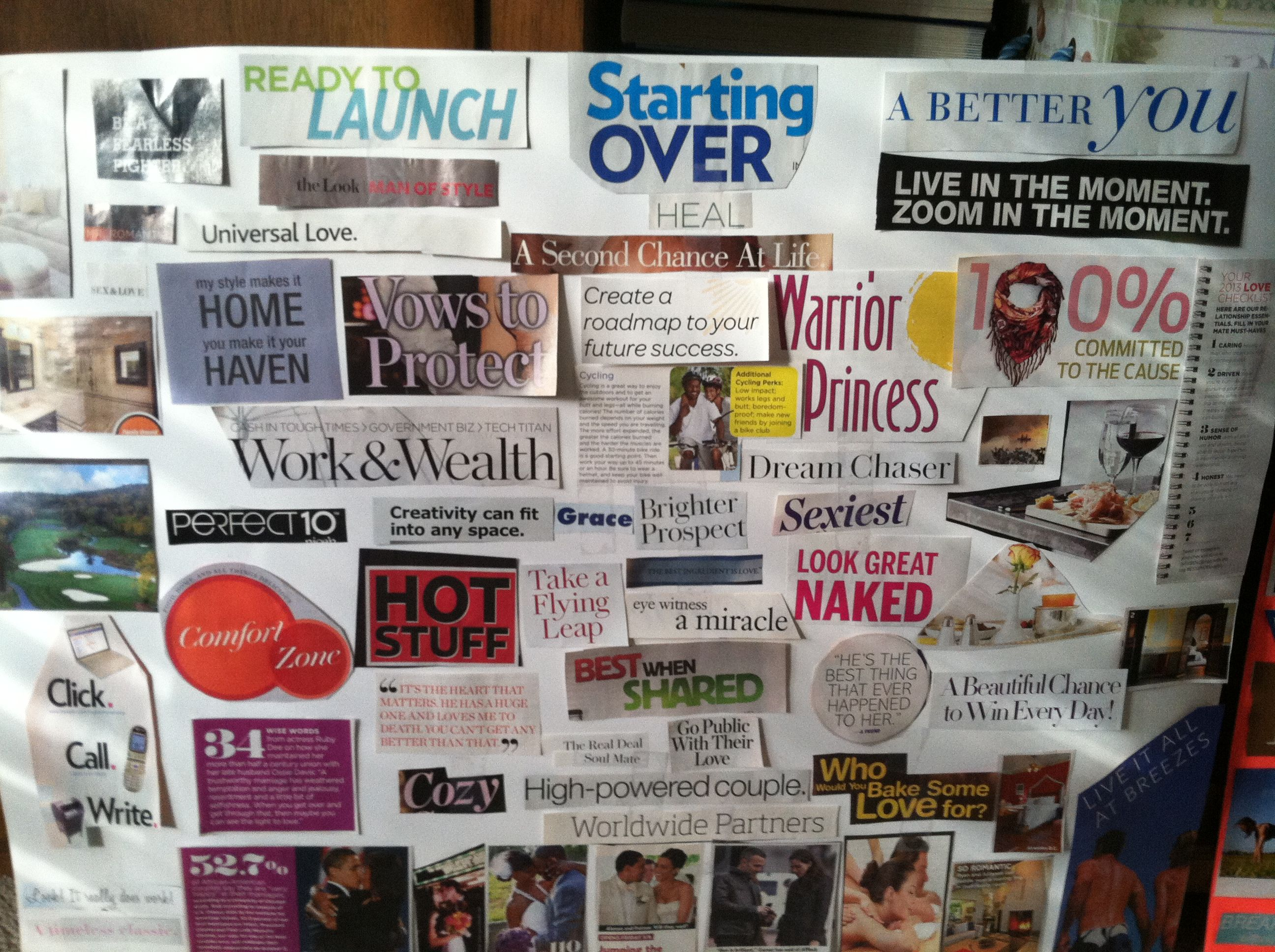 Vision board vision board dream board ideas pinterest