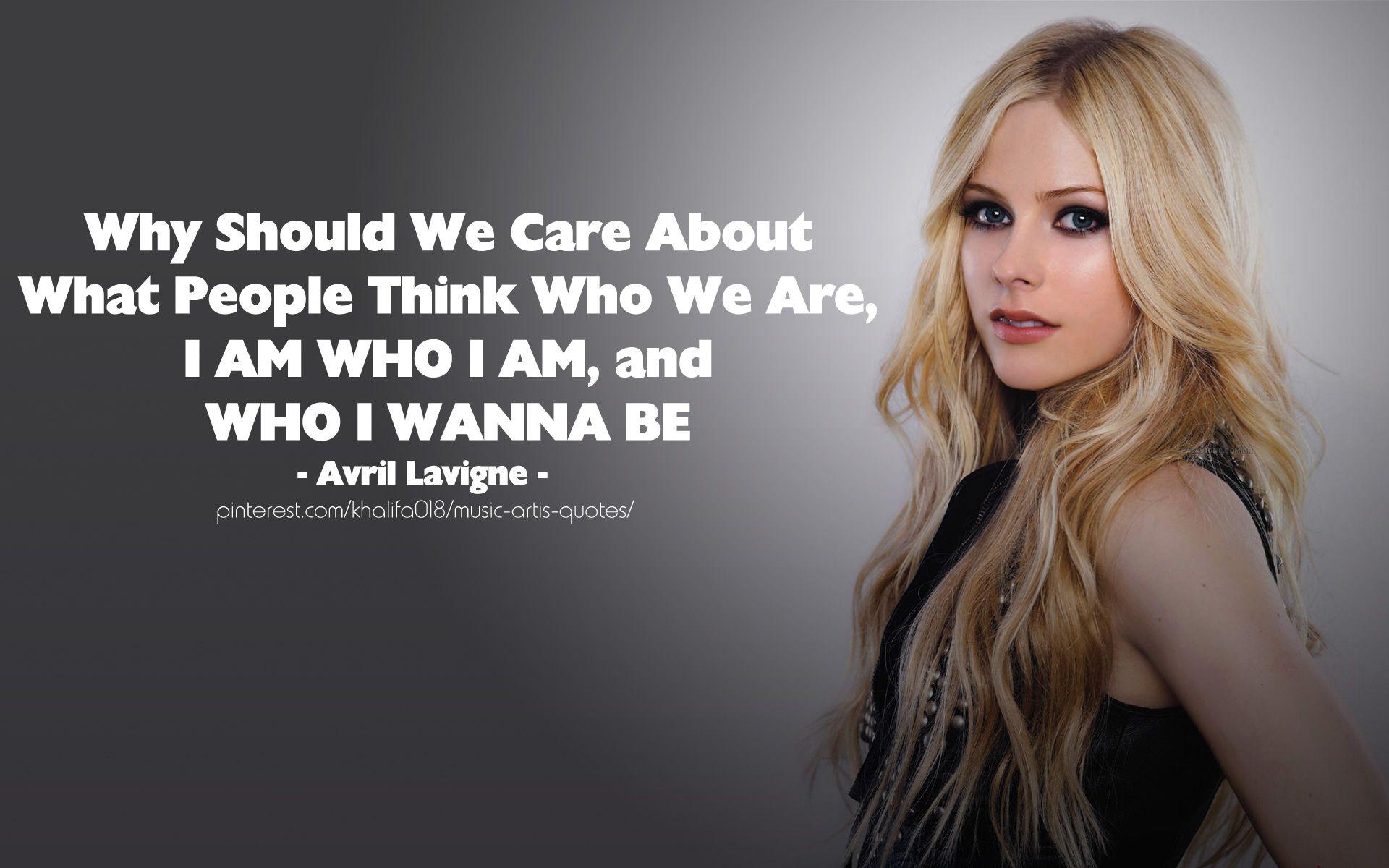 Avril Lavigne Quotes - BrainyQuote
