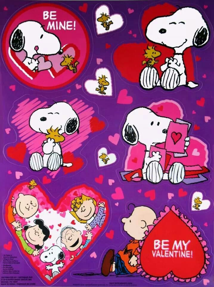 snoopy valentines day boxers