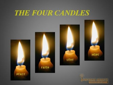 The four candles Inspiring Story