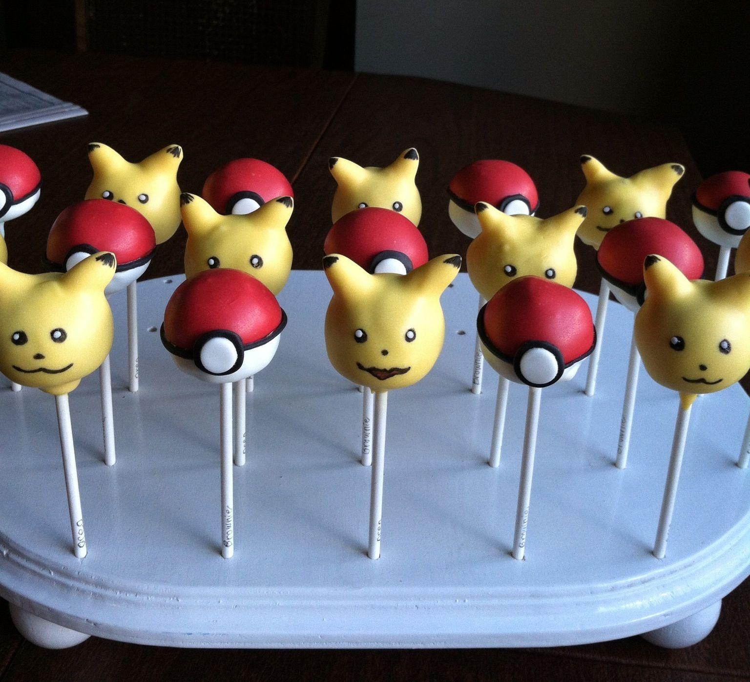 pikachu pokeballs cakepops pokemon at the college level