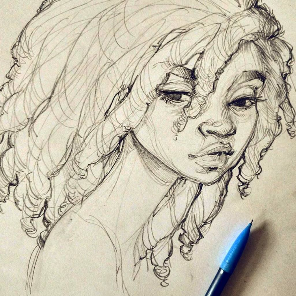 Sketch drawings from photos