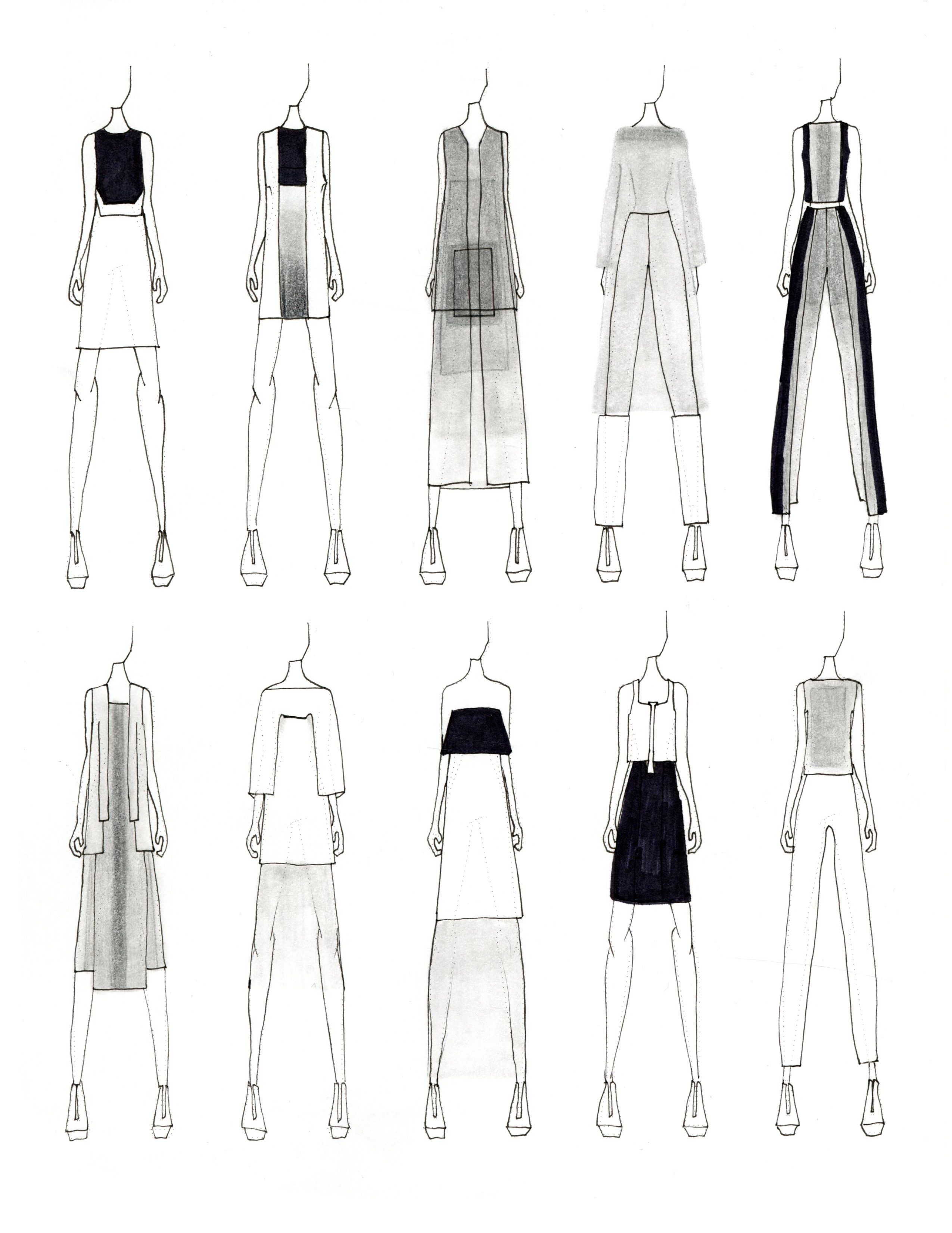 ファッションデザイナー ポートフォリオ