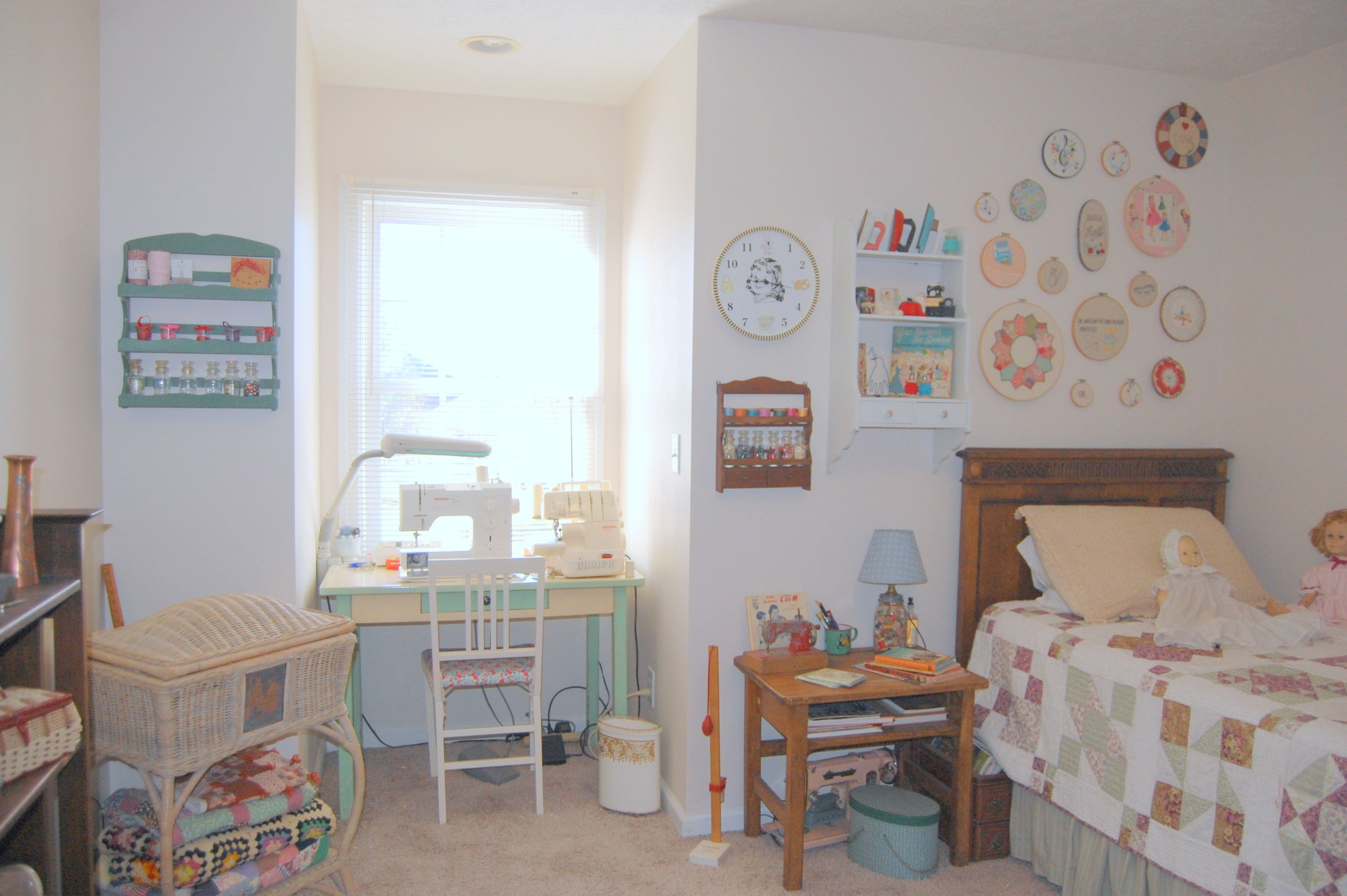 My Vintage Sewing And Craft Room Home Decor Pinterest