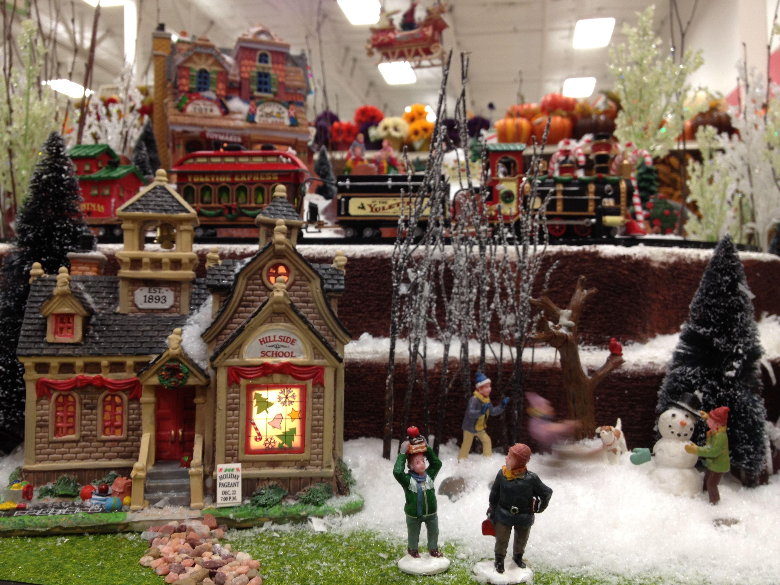 Halloween Village Displays