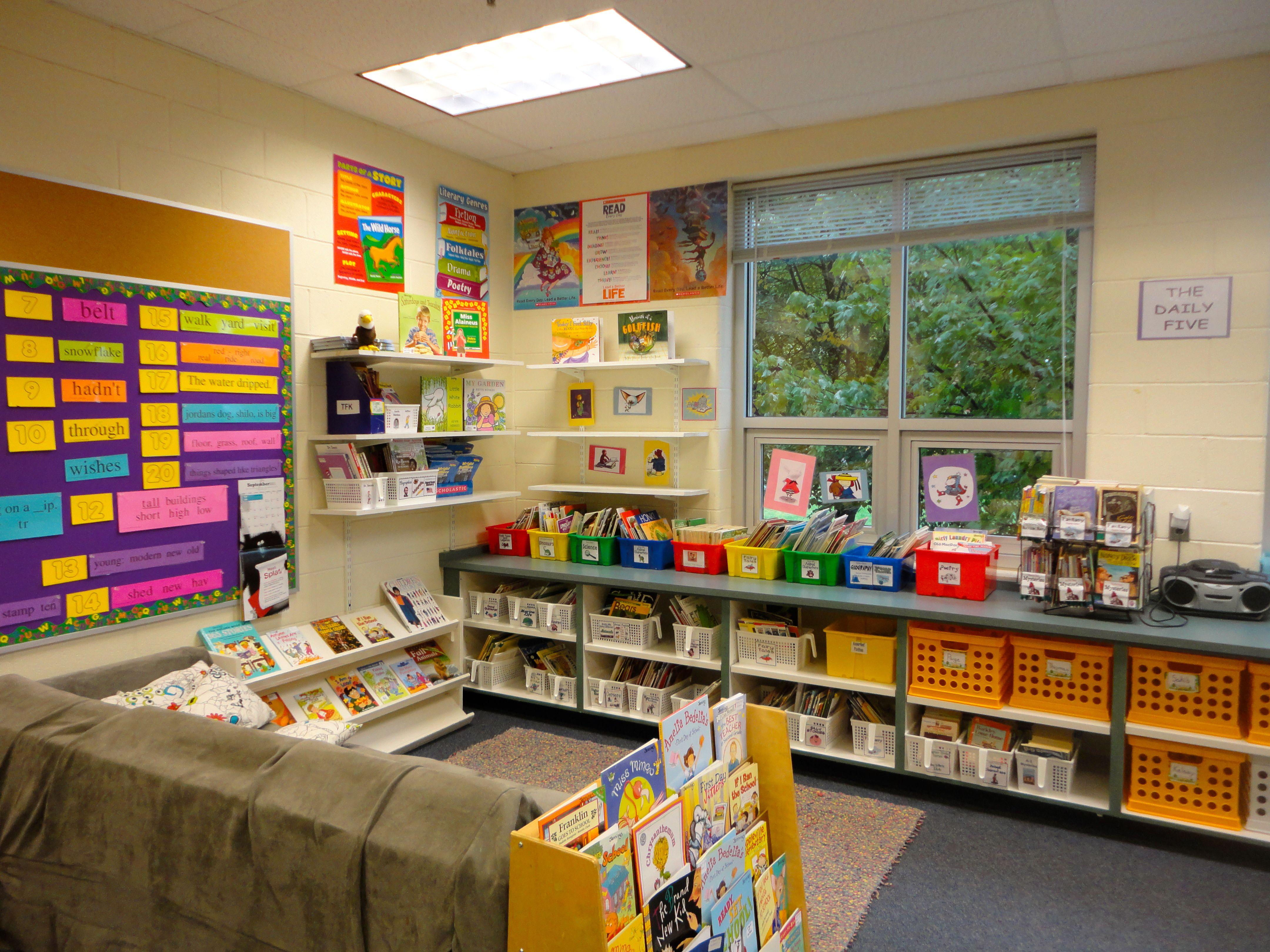 Classroom Library Ideas Kindergarten : Classroom library pinterest