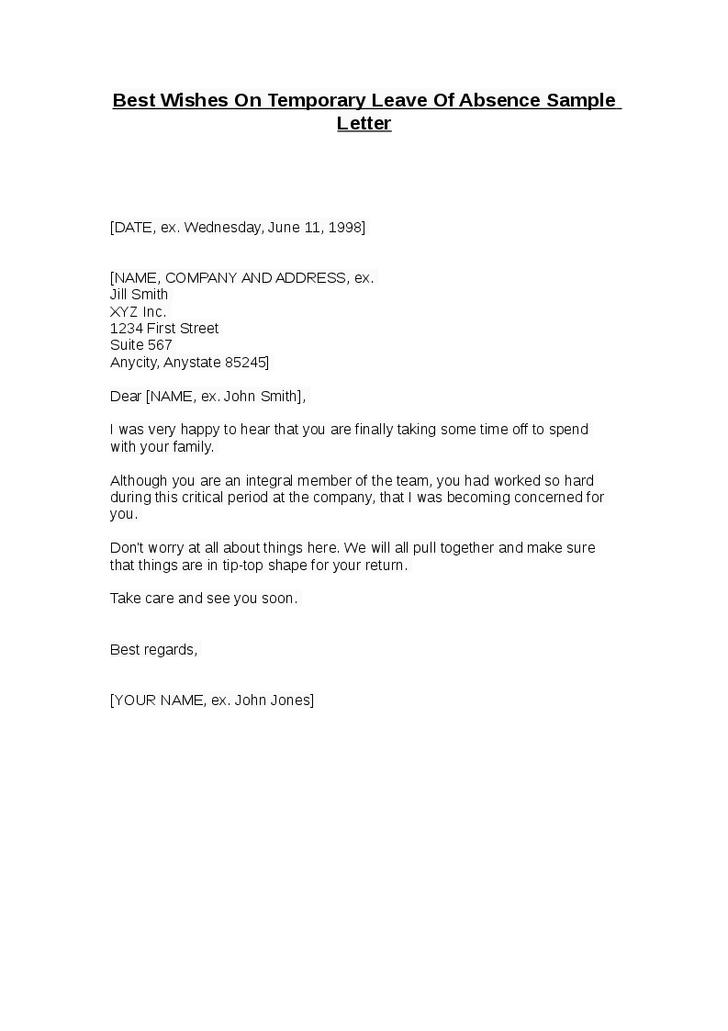 Formal letter format leave 6 formal sick leave letters pdf word sample templates spiritdancerdesigns Choice Image