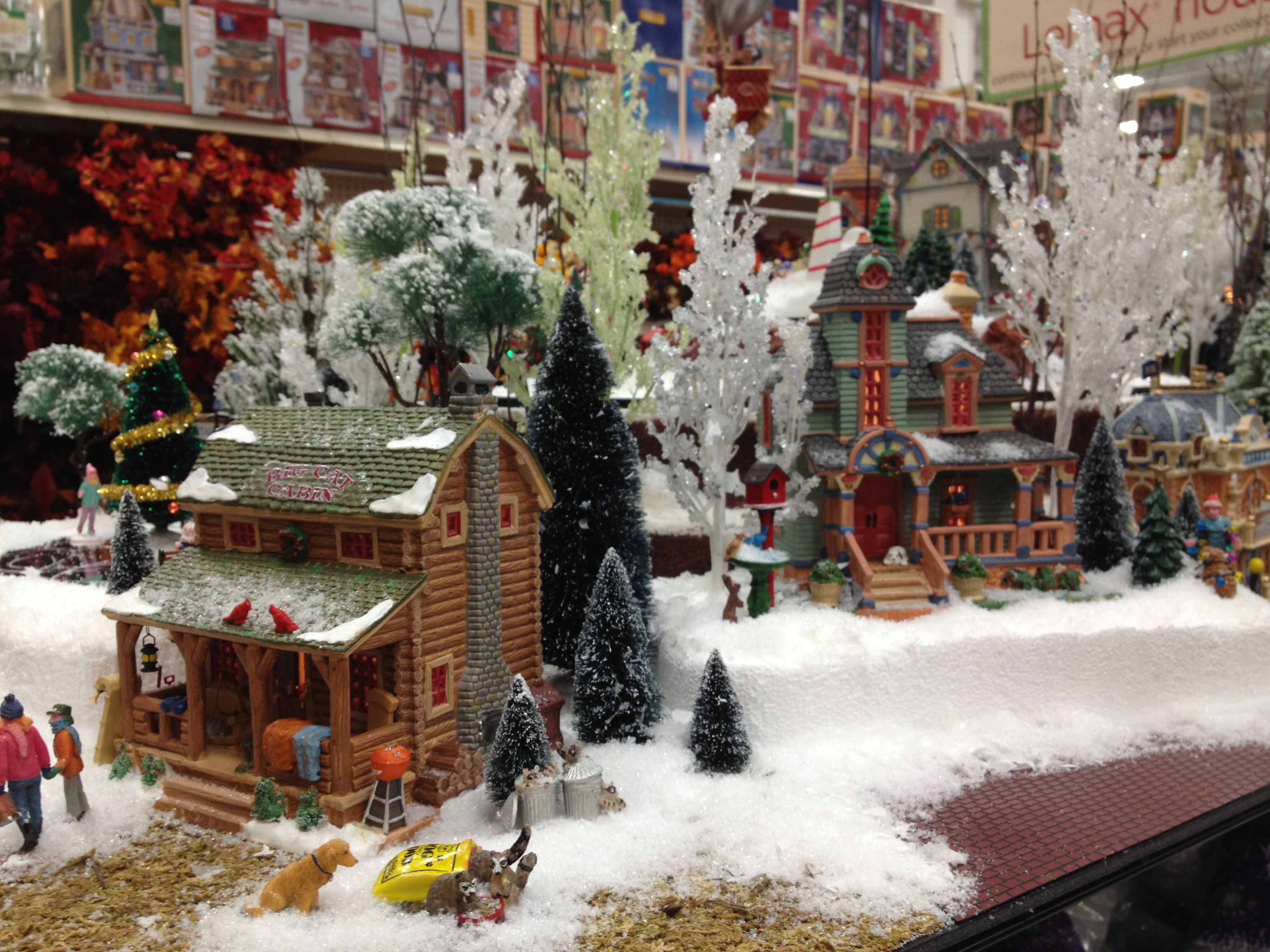 Home design image ideas lemax christmas village display