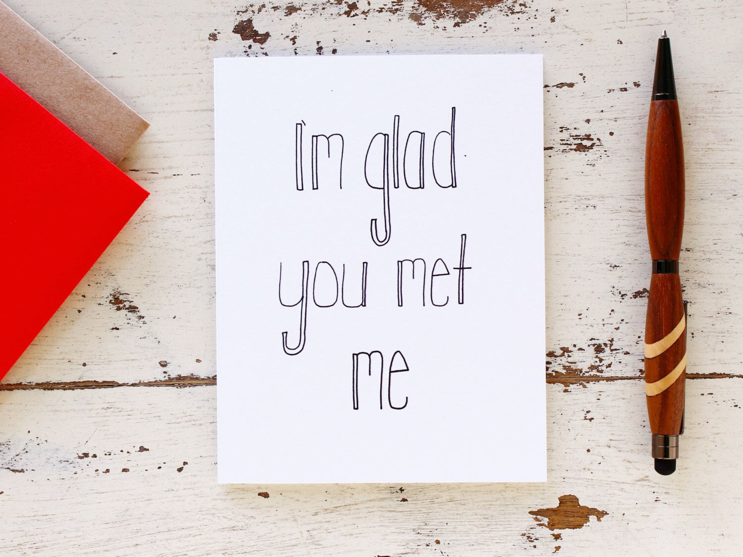 Funny Sarcastic Anniversary Card For Him I Love You Card Friendship Card Best Friends