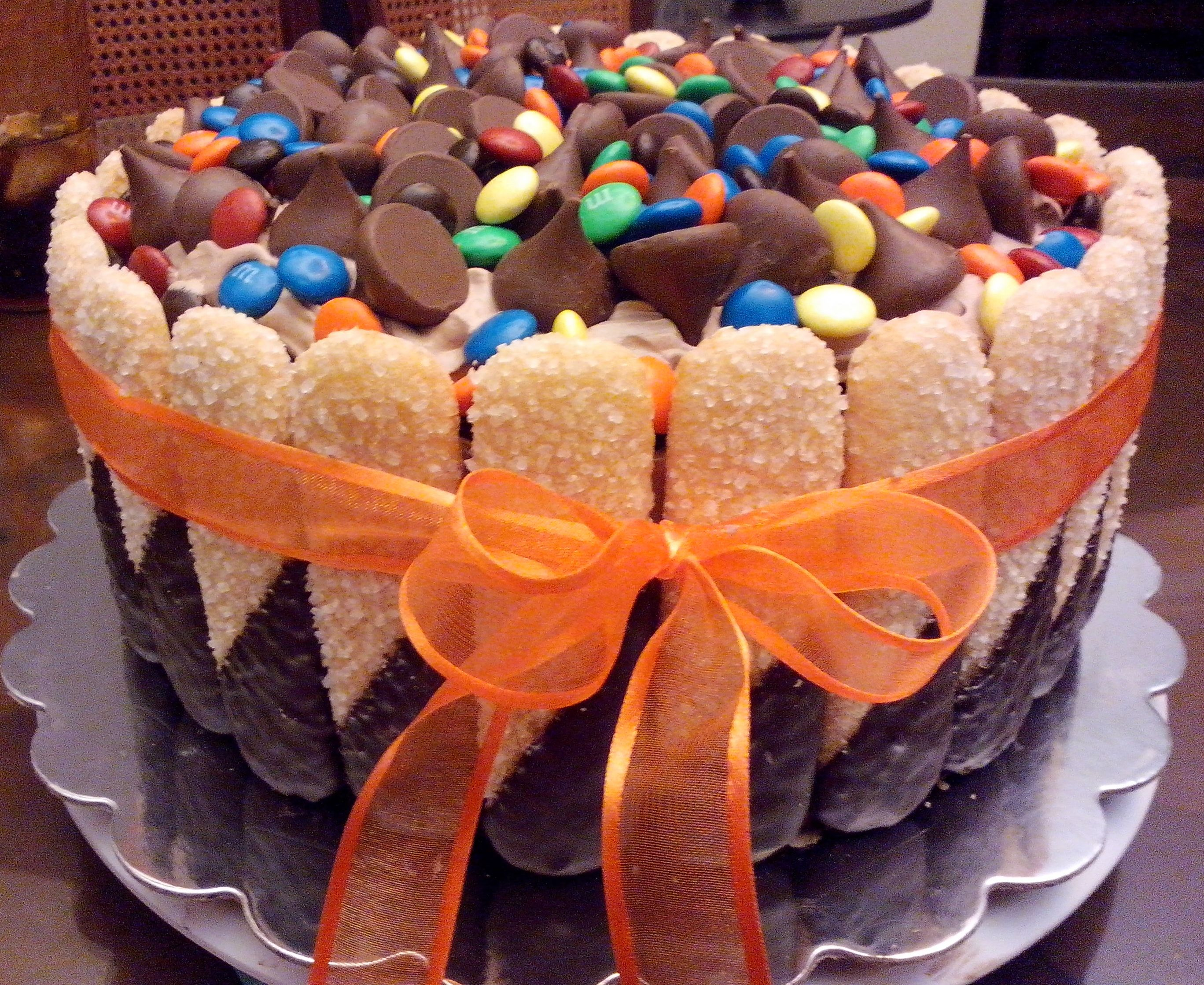 Lady Fingers & Chocolate Cake~! | My Style / Mis Trabajos / My Work ...