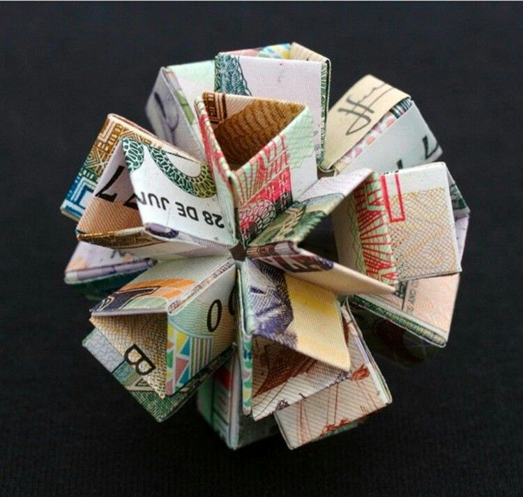 Paper money origami so amazing arts crafts whatnot for Crafts that make the most money