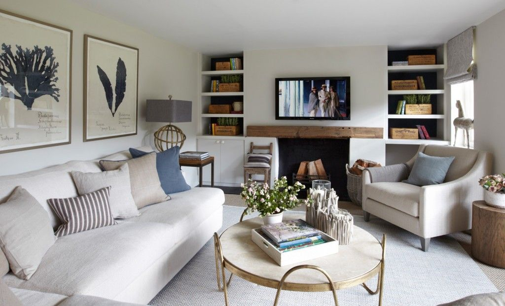 Modern country sitting room beautiful interiors pinterest for Beautiful sitting rooms