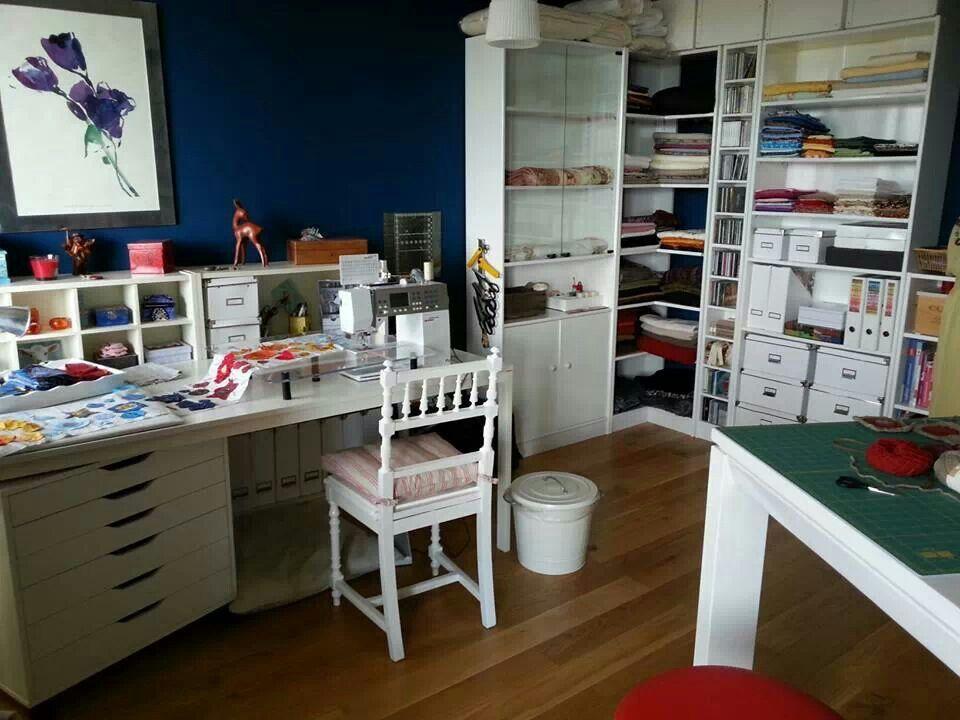 Sewing Room Storage Ideas Pinterest