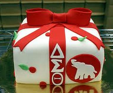 Pin Delta Sigma Cake Ideas And Designs