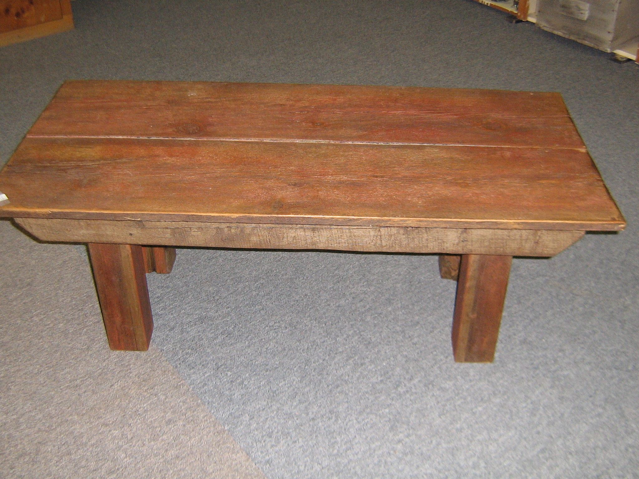 Coffee Table Made From Old Barn Wood For The Home Pinterest